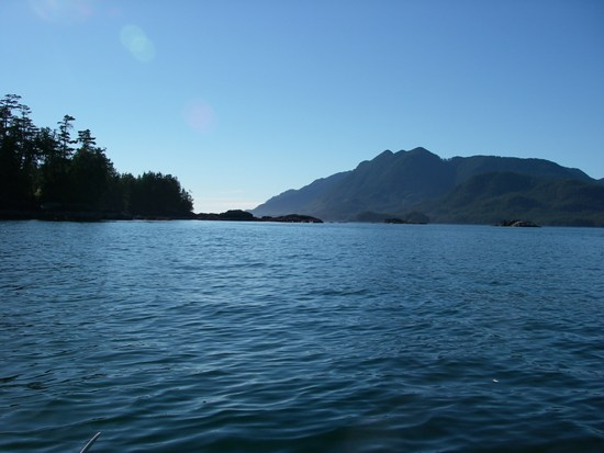 Kayaking Vancouver Island Nuchatlitz Inlet islands